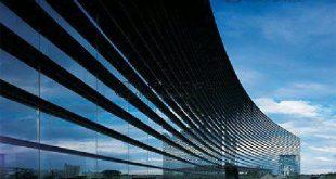 نمای شیشه ای کرتین وال